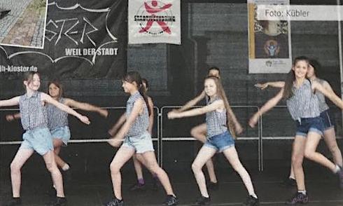 Weiler Stransommer 2018 - Tanzaufführung Gymnastica